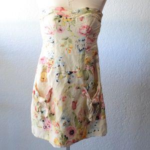 Sweetheart strapless mini dress